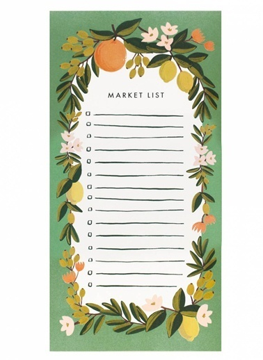 Citrus Floral Market Listesi-Julep-Rifle Paper Co.